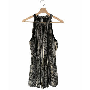 As You Wish Paisley Romper (Small)